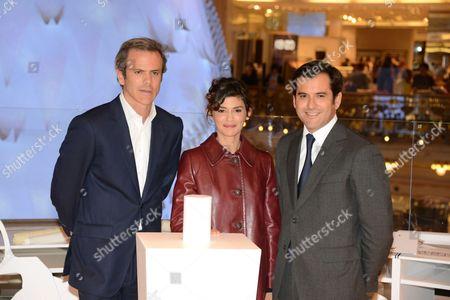 Audrey Tautou, Guillaume Houze, Nicolas Houze