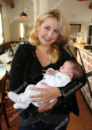 Stock Photo of Iva Schell and daughter Viktoria,