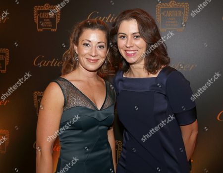 Stock Photo of Hayley Turner with Sally Ann Grassick