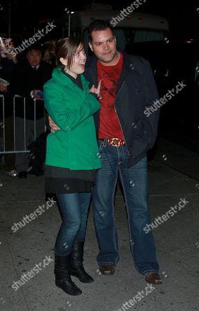 Nicki Clyne and Aaron Douglas