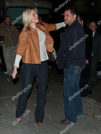Stock Photo of Katee Sackhoff and Aaron Douglas