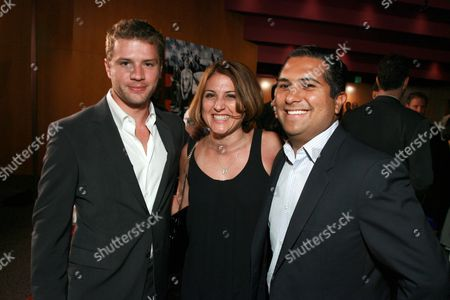 Ryan Phillippe, executive producer Pamela Abdy and producer Mark Roybal
