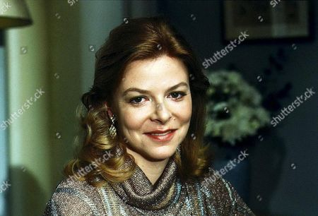 Stock Picture of 'First Among Equals' TV - 1986 -    Episode 6 American banker Kate Hamilton [Toria Fuller] is having an affair with Raymond Gould.