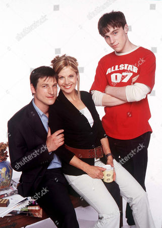 'Night and Day'   TV Picture Shows From Left to Right: the Brake Family - Dominic Rickhards (Mike), Glynis Barber (Fiona) and Adam Paul Harvey (Tom)