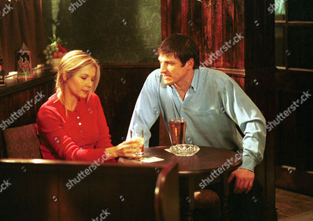 Stock Photo of 'Night and Day'   TV  Glynis Barber (Fiona) and Dominic Rickhards (Mike)
