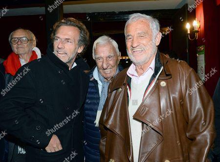 Stephane Freiss, Charles Gérard, Jean Paul Belmondo
