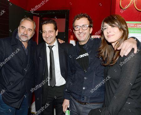 Antoine Dulery, Laurent Gerra, Cyrille Eldin, Sandrine Calvayrac