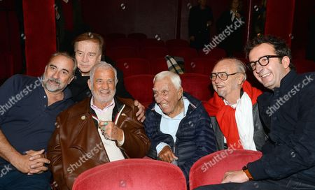 Antoine Dulery, Daniel Lauclair, Jean Paul Belmondo, Charles Gérard, Christian Brincourt, Cyrille Eldin