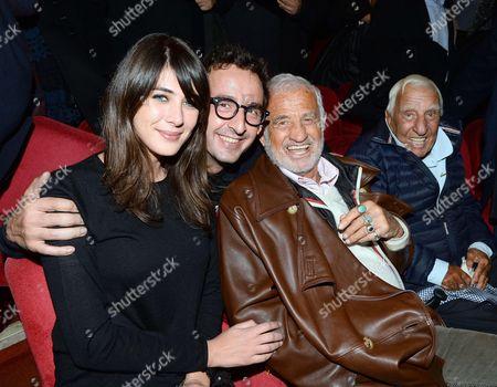 Cyrille Eldin, Sandrine Calvayrac, Jean Paul Belmondo, Charles Gérard