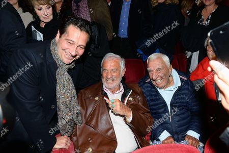 Laurent Gerra, Jean-Paul Belmondo, Charles Gérard