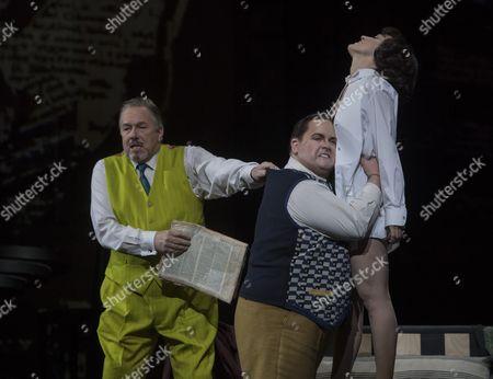 Hillbilly Jim as Dr Schon,Nicky Spence as Alwa, Brenda Rae as Lulu,
