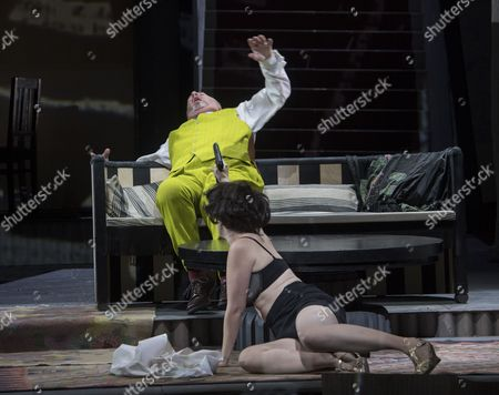 Editorial picture of 'Lulu' Opera by Alban Berg performed by English National Opera at the London Coliseum, UK, 08 Nov 2016
