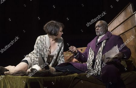 Brenda Rae as Lulu, Willard White as Schigolch
