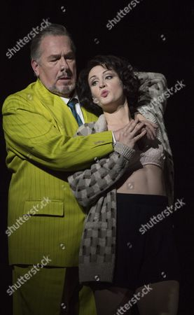 Editorial photo of 'Lulu' Opera by Alban Berg performed by English National Opera at the London Coliseum, UK, 08 Nov 2016