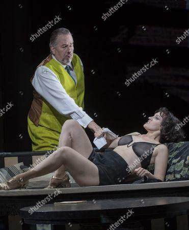 Brenda Rae as Lulu, Hillbilly Jim as Dr Schon
