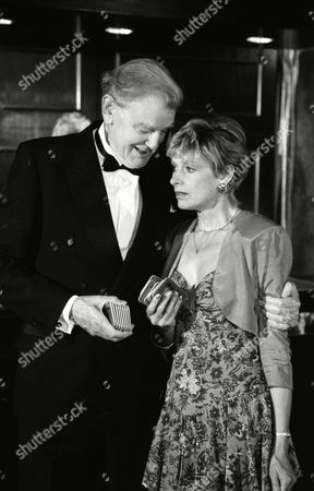 Stock Image of Jean Rogers (as Dolly Skilbeck) and Wilfred Harrison (as Arthur Bright, Tate's business partner) (Episode 1582 - 13th August 1991)