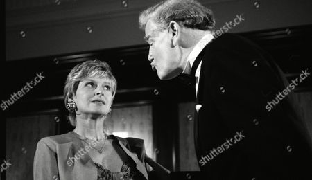 Stock Picture of Jean Rogers (as Dolly Skilbeck) and Wilfred Harrison (as Arthur Bright, Tate's business partner) (Episode 1582 - 13th August 1991)