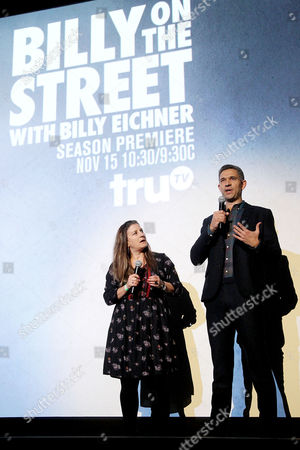 Editorial picture of 5th Season Premiere of Tru TV's 'Billy On The Street', New York, USA - 09 Nov 2016