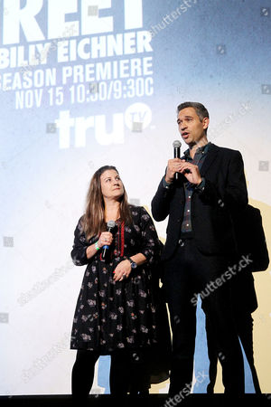Stock Image of Anna Wenger, Mike Farah (Exec. Producers)
