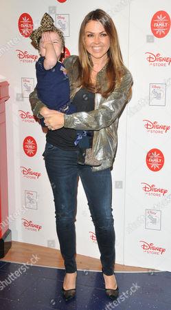 Adele Silva and daughter