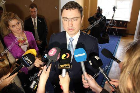 Prime Minister Taavi Roivas
