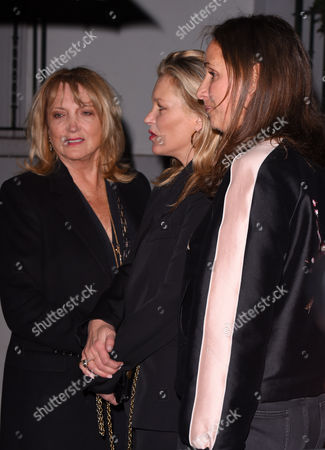 Linda Moss, Kate Moss and Rosemary Ferguson