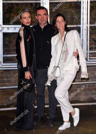 Camilla Al-Fayed, Simon Aboud and Mary McCartney