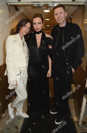 Mary McCartney, Camilla Al-Fayed and Professor Green