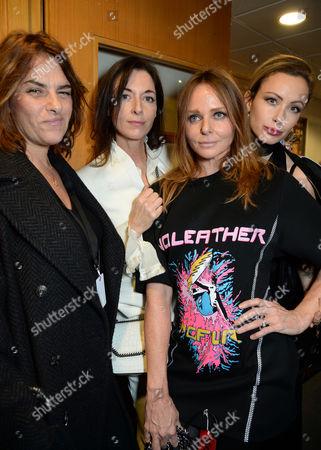 Tracey Emin, Mary McCartney, Stella McCartney and Camilla Al-Fayed