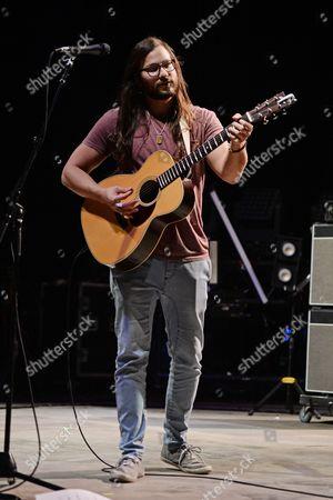 Editorial picture of Castro in concert at the Mizner Park Amphitheatre, West Palm Beach, USA - 09 Nov 2016