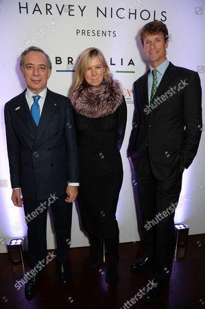 Pasquale Terracciano, Stacey Cartwright and William Fox-Pitt