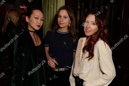 Mariko Kuo, Florrie Thomas and Lorna Andrews