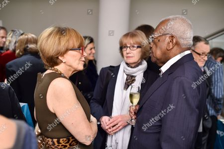 Anne Robinson, Jennifer Johnson and Sir Trevor McDonald