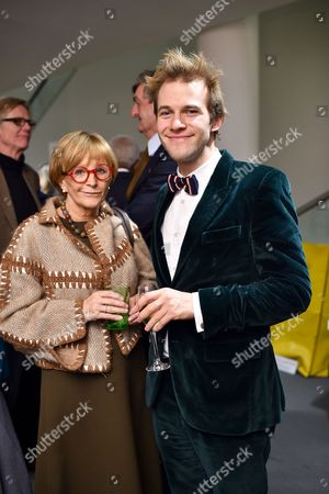 Anne Robinson and Garrett Moore