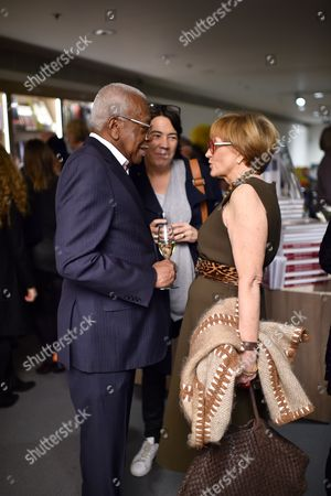 Sir Trevor McDonald and Anne Robinson