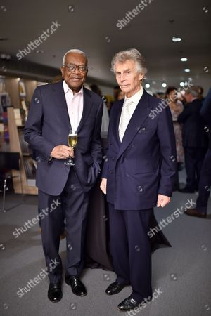 Derry Moore and Sir Trevor McDonald