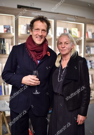 Stock Photo of Monty Don and Sarah Don