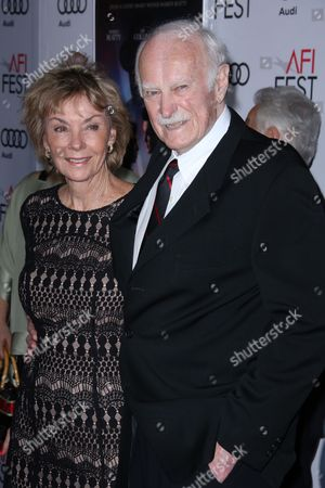Dabney Coleman and wife