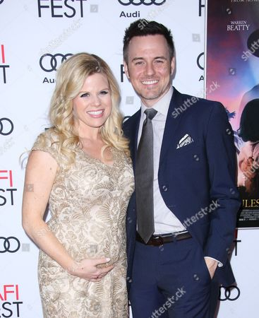 Megan Hilty and Brian Gallagher