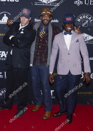 Stock Photo of Jonathan Wunderlich, Shane W Evans, Taye Diggs