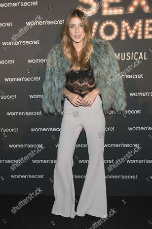 Editorial photo of Elsa Pataky presents Women'Secret First Musical, Madrid, Spain - 10 Nov 2016