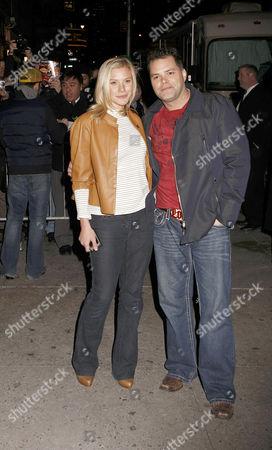 Katee Sackhoff and Aaron Douglas