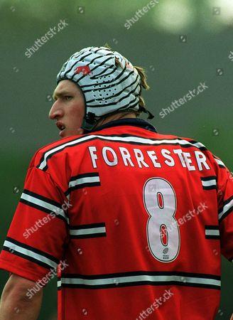 James Forrester (Gloucester) Sale Sharks v Gloucester 18/04/2003 Great Britain Sale