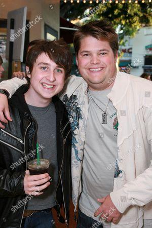 Stock Photo of Kyle Kaplan and Jareb Dauplaise