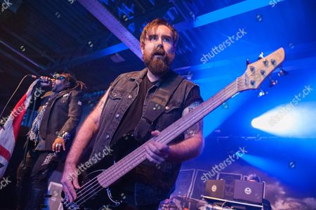 Stock Picture of Daniel Pugsley - Skindred