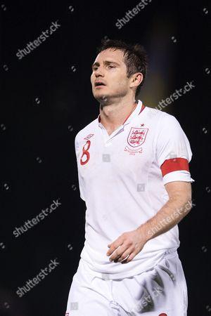 Football - World Cup 2014 Qualifier - San Marino vs England Frank Lampard of England at the Olympic Stadium San Marino