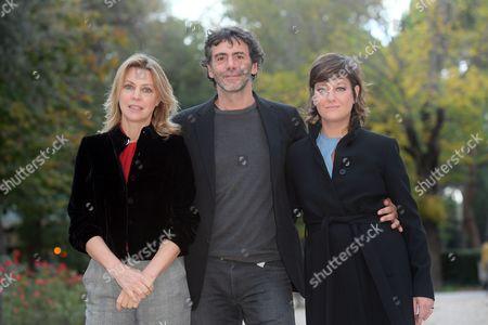 Margherita Buy, the director Luca Lucini, Giovanna Mezzogiorno