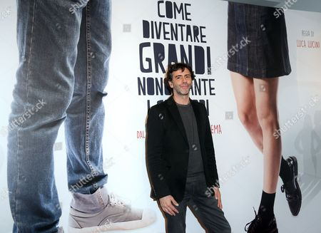 The director Luca Lucini