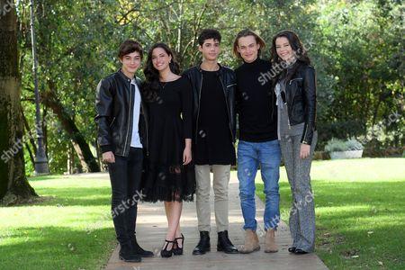 Federico Russo, Chiara Primavesi, Emanuele Misuraca, Saul Nanni, Eleonora Gaggero