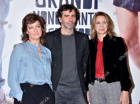 Stock Photo of Giovanna Mezzogiorno, Luca Lucini and Margherita Buy